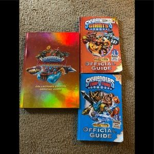 SKYLANDERS BOOKS Official Guides Trap Team Giants
